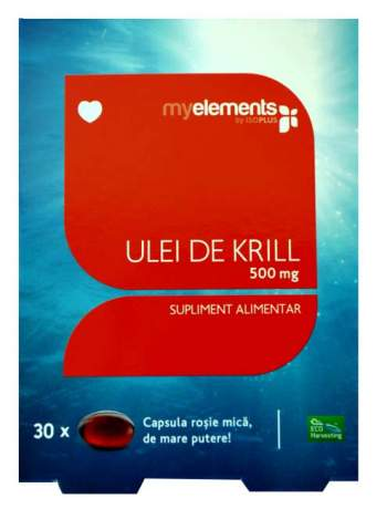 Krill Omega 3 / 500mg 30cps